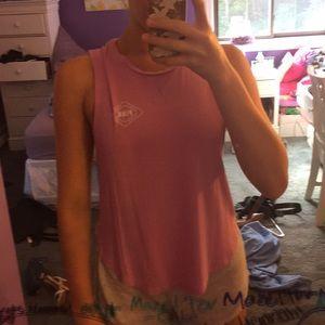 Pink Victoria's Secret muscle tee